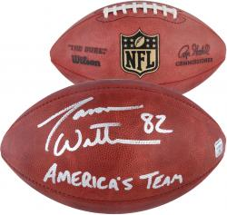 Jason Witten Dallas Cowboys Autographed Duke Pro Football with America's Team Inscription