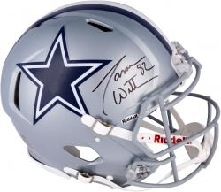 Jason Witten Dallas Cowboys Autographed Riddell Pro-Line Authentic Speed Helmet - Mounted Memories