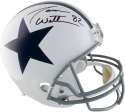 Witten, Jason Auto (cowboys) (white/tb) Replica Helmet