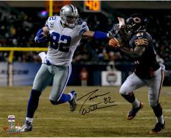 """Jason Witten Dallas Cowboys Autographed 16"""" x 20"""" Stiff Arm Photograph"""