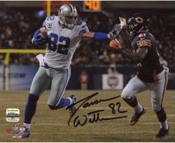 """Jason Witten Dallas Cowboys Autographed 8"""" x 10"""" Stiff Arm Photograph"""