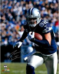 "Jason Witten Dallas Cowboys Autographed 16"" x 20"" Close Up Run Photograph"