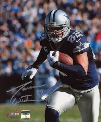 "Jason Witten Dallas Cowboys Autographed 8"" x 10"" Close Up Run Photograph"