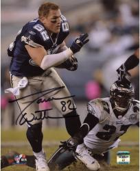 "Jason Witten Dallas Cowboys Autographed 8"" x 10"" No Helmet Photograph"