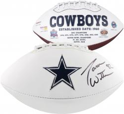 Jason Witten Dallas Cowboys Autographed White Panel Football - Mounted Memories