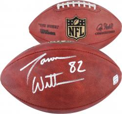 Jason Witten Dallas Cowboys Autographed Duke Pro Football - Mounted Memories