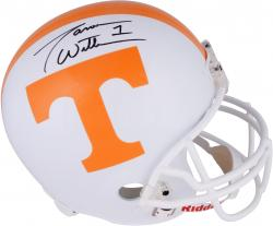 Jason Witten Tennessee Volunteers Autographed Riddell Replica Helmet - Mounted Memories