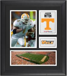 "Jason Witten Tennessee Volunteers Framed 15"" x 17"" Collage"