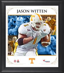 "Jason Witten Tennessee Volunteers Framed 15"" x 17"" Core Composite Photograph"