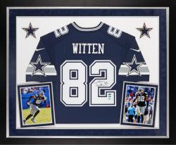 Jason Witten Autographed Cowboys Limited Jersey - Deluxe Framed