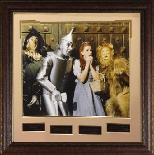 Wizard of Oz 16X20 Photo Engraved Quote Series Leather Framed 28x29 w/ Judy Garland (entertainment)
