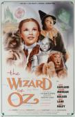 Wizard Of OZ Cast Autographed Movie Poster - BAS
