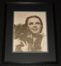 Wizard of Oz Dorothy & Toto Framed 11x14 Photo Poster Judy Garland