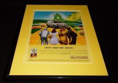 Wizard of Oz / Oldsmobile 1999 Framed 11x14 ORIGINAL Vintage Advertisement