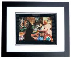"Wizard of Oz Unsigned ""I'll get you my Pretty"" 8x10 inch Photo BLACK CUSTOM FRAME"