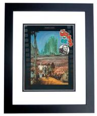 "Wizard of Oz Unsigned ""Yellow Brick Road"" 8x10 inch Photo BLACK CUSTOM FRAME"
