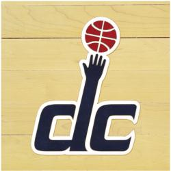 "NBA Washington Wizards 12"" x 12"" Logo Floor Piece"