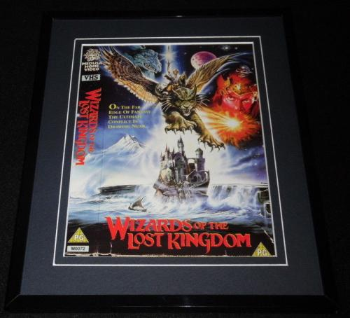 Wizards of the Lost Kingdom Framed 8x10 Repro Poster Display Bo Svenson