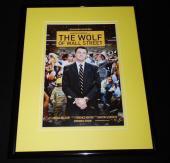 Wolf of Wall Street Framed 11x14 Poster Display Leonardo Dicaprio Margot Robbie