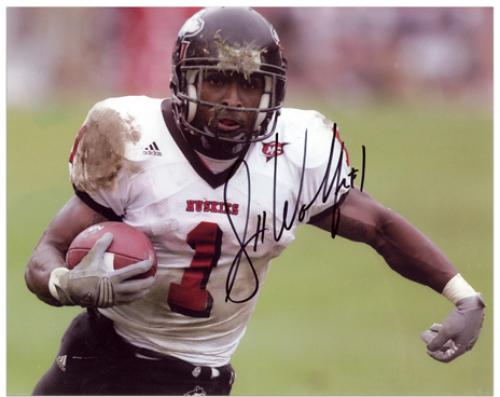 "Garrett Wolfe Northern Illinois Autographed 8"" x 10"" Photograph - Mounted Memories"