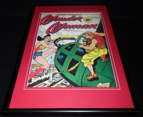 Wonder Woman #11 Framed 12x18 Cover Poster Display Official RP
