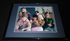 Wonder Years Framed 8x10 Cast Photo Poster Fred Savage Dan Lauria