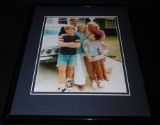 Wonder Years Framed 8x10 Cast Photo Poster Fred Savage Dan Lauria Olivia D'Abo