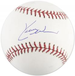 Kerry Wood Chicago Cubs Autographed Baseball - Mounted Memories