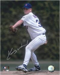 "Kerry Wood Chicago Cubs 20K Game Autographed 8"" x 10"" Photograph"