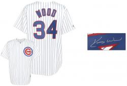 Kerry Wood Signed Jersey - Replica