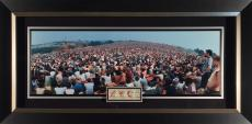 Woodstock Panoramic by John Dominis with 3-Day Original Tick