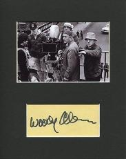 Woody Allen Annie Hall Oscar Winner Director Rare Signed Autograph Photo Display