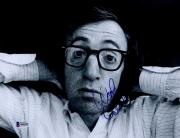 "Woody Allen Autographed 8"" x 10"" Close Up of Face Photograph - Beckett COA"