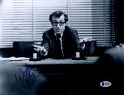 "Woody Allen Autographed 8"" x 10"" Shrugging Photograph - Beckett COA"