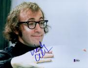 "Woody Allen Autographed 8"" x 10"" Smiling Photograph - Beckett COA"