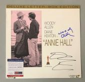 Woody Allen Diane Keaton Hand Signed Psa/dna 12x12 Laser Disc Cover Autograph