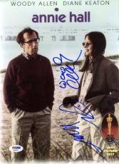 Woody Allen Diane Keaton Psa/dna Hand Signed Annie Hall 9x12 Photo Autograph