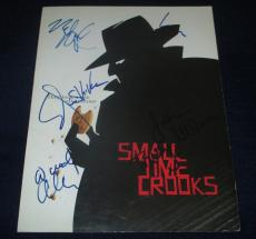 Woody Allen, Saxon, Tracey Ullman, Rapaport Signed Small Time Crooks Program.