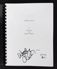 Woody Allen Signed Annie Hall Movie Script Autographed BAS #D05361