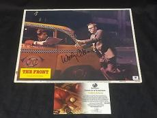 Woody Allen The Front Signed Large Autograph 11x14 Original Lobby Card Photo COA