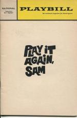 Woody Allen Tony Roberts Diane Keaton Play It Again Sam Jan 1969 Playbill