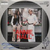Woody Allen/Diane Keaton Signed Annie Hall Laser Disc Cover PSA/DNA #AC17594