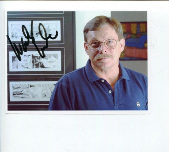 Autographed Rex Morgan Photo - Woody Wilson MD Cartoonist Comic Artist Autograph