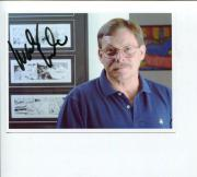 Autographed Rex Morgan Photo - Woody Wilson MD Cartoonist Comic Artist Autograph