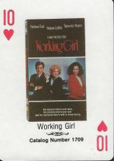 Working Girl RARE 1988 CBS Fox Promotional Playing Card Harrison Ford