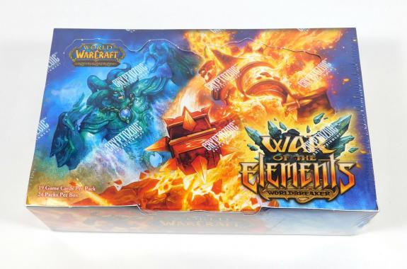 World of Warcraft TCG WoW War of the Elements Booster Box Sealed 24 Packs
