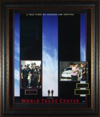 World Trade Center - Oliver Stone Autographed Framed Display