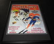 World's Finest Comics #4 Framed 10x14 Cover Poster Photo Batman Superman Robin