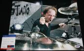WOW Lars Ulrich signed 11 x 14, Metallica, Ride the Lightning, PSA/DNA Y38956