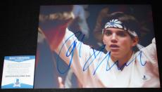 WOW Ralph Macchio signed 8 x 10, Karate Kid, The Outsiders, Proof, Beckett BAS
